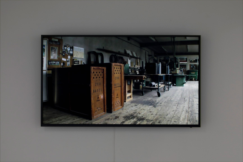 Reflection installationview kioku